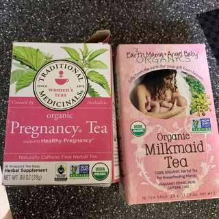 Baby pregnancy nursing tea
