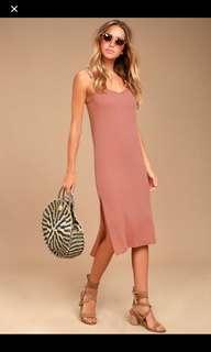 Forever21 Bodycon Dress w/ slits both sides