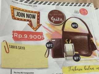 Join oriflame only 9.900