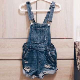 H&M denim overalls