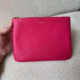 ❗️NEW ❗️ AUTHENTIC FURLA Hot Pink Case / Pouch / Clutch