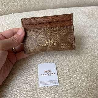 AUTHENTIC COACH Card Holder / Case