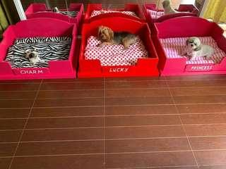 Wooden Bed For Your Furbabies