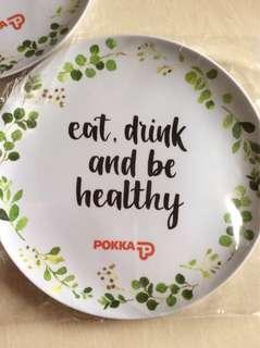 Pokka plastic plate (3pcs)