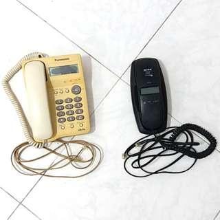 Panasonic and Alcom Telephone