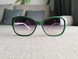 Green and White Sunglasses/Sunnies/Shades