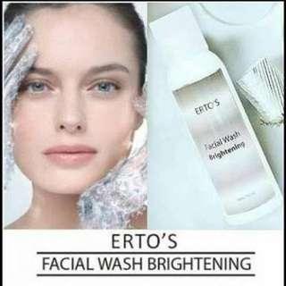 ERTOS - FACIAL WASH BRIGHTENING - ERTO'S FACIAL WASH BPOM ORIGINAL