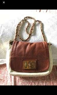 Authentic Tory Burch Chained Sling Bag