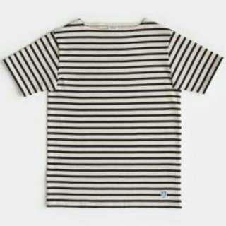 Used kapok orcival s/s striped tee
