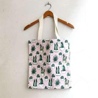 Cacti Canvas Totebag 🌵
