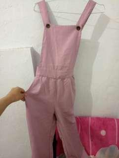 Overall Pink
