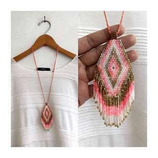 Ethnic Fringe Necklace