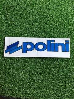 Polini Die cut Sticker