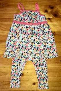 Leggings and Dress Twin-Set