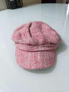 Chanel vintage inspired tweed cap