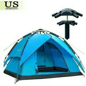 Automatic Double Layer waterproof Tent  for 4 Person