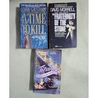 Bundle of 3 assorted books