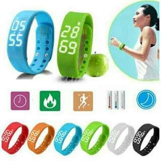 W2 Smart Band Watch With Fitness Tracker & Sleep Monitor