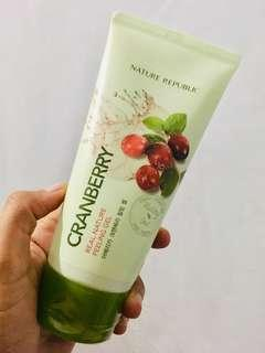 Cranberry Real Nature Peeling Gel