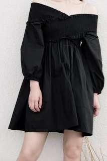 Off Shoulder Black Dress #SINGLES1111