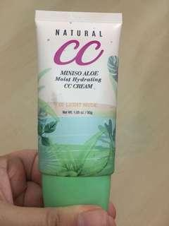 Natural CC Cream Miniso Aloe Moist Hydrating CC Cream