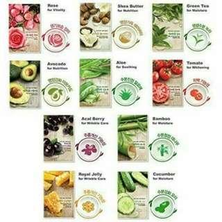 Nature Republik Sheetmask Olive dan Aloevera