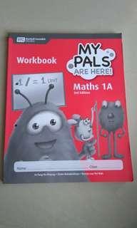 My pals math workbook 1A 3rd edition