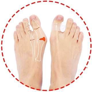 日本腳趾外翻矯正器 ($88)((護足系列-型號004)分趾器 拇指外翻 拇外翻矯正器 矽膠腳趾 大腳骨 腳指分離器 分趾器 包郵