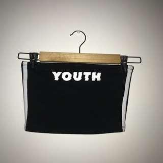 Youth crop/tube top