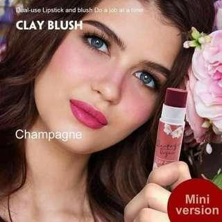 CLAY BLUSH ✔hypoallergenic  ✔longlasting ✔dual use lipstick & blush do a job at a time.. 👉35 ONLY.. 👉👉👉PLEASE VISIT YURIS CLOSET👈👈 For more affordable and good quality products ✔we accept resellers ✔all in one shop ✔direct and legit since 2012..