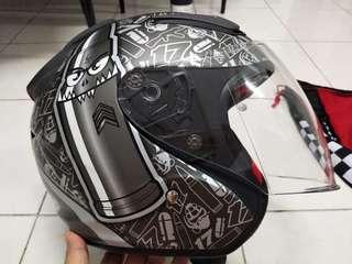 Helmet NHK R1 Karel Abraham
