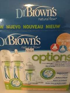 Dr Brown newborn set