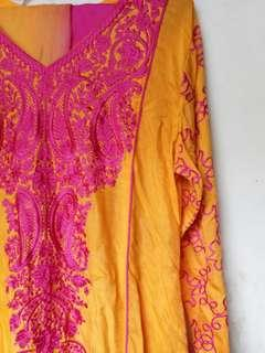 Indian Dress (include Pasmina Two Tone Gradations)