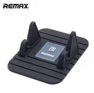 🆕Remax Car Phone Holder - soft silicon anti slip car mount