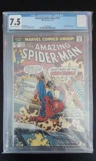 🔥Hot Deal🔥Amazing Spider-man #152 CGC 7.5 (1976 1st Series)- Vs The Shocker! Bronze-Age Collectible!