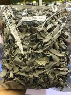 White sage loose leaves pack