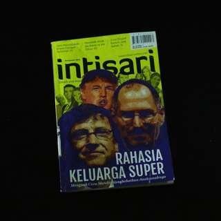 Majalah Intisari Rahasia Keluarga Super Steve Jobs Bill Gates Donald Trump