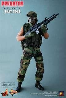 Hot Toys private billy sole (predator)