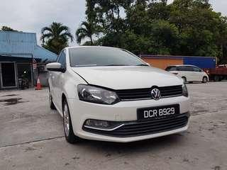 2015 VW POLO 1.6AT COMFORTLINE