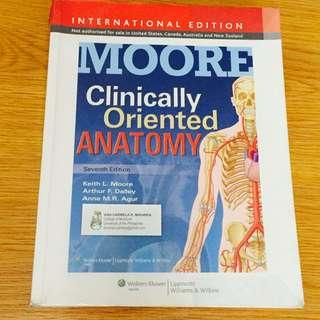 RUSH Moore's Clinically Oriented Anatomy 6th Ed