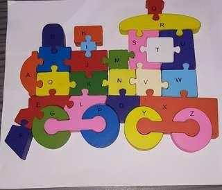 🚚 Wooden Puzzle