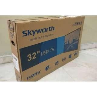 Skyworth 32 hd led tv usb movie - NEW 2YR WARANTY