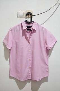 Uniqlo Pink Shirt