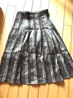 直條半截裙