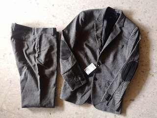 H&m regular fit blazer & pant 1 set