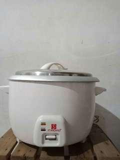 Rice cooker and food warmer