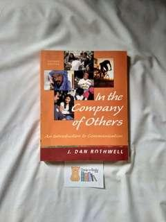 In the Company of Others by J. Dan Rothwell