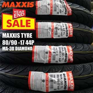 MAXXIS 80/90-17 TUBELESS