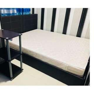 "Queen Size PU Leather Bed Frame (60""x75"")"