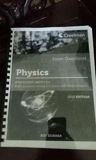 Physics Creel man Practice Exam Questions #POST1111